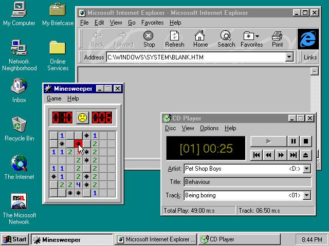 generaciones windows